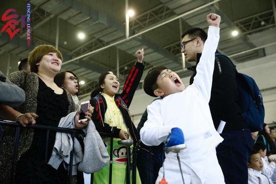 击剑俱乐部联赛长春站第二日