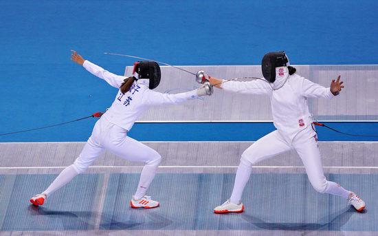 全运会击剑团体赛第二日集锦